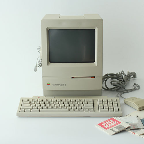 vintage Apple Macintosh Classic