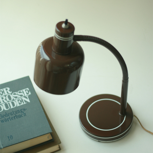 VINTAGE chocolate LAMP